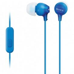 SONY MDREX15APLI.CE7 Ακουστικα-Μικρόφωνα Blue