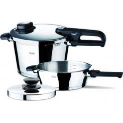 FISSLER SET QUATTRO 8LT.CORONAL (62070111) Σετ μαγειρικών σκευών