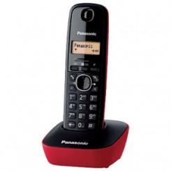 PANASONIC DECT KX-TG1611GRR Ασυρματα Τηλεφωνα Red