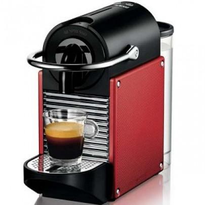 DELONGHI EN125.R PIXIE Μηχανές Espresso Red(Δώρο κάψουλες αξίας 30€)