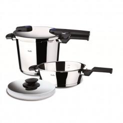 FISSLER 60070011 SET QUATTRO 8LT.VITAQUICK Σετ μαγειρικών σκευών