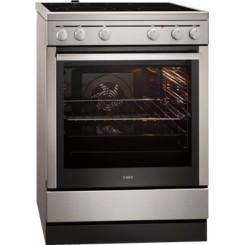 AEG 40006VS-MN INOX Ηλεκτρικές κουζίνες