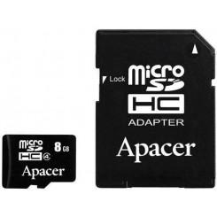 APACER SDHC-8GB AP8GMCSH4-R  Κάρτες SD/MicroSD