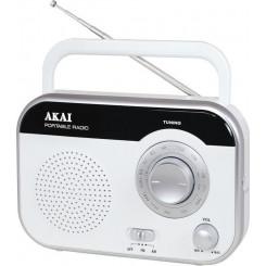 AKAI PR003A-410W ΑΝΑΛΟΓΙΚΟ Ραδιοφωνα White