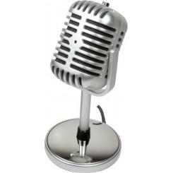 LOGILINK HS0036 RETRO STYLE MICROPHONE Ακουστικα-Μικροφωνα