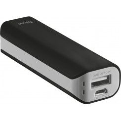 TRUST PRIMO 21221 - 2200mAh (URBAN) Powerbank Black