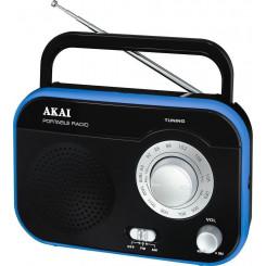 AKAI PR003A-410B ΑΝΑΛΟΓΙΚΟ Φορητα Ραδιο-Cd Black