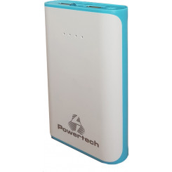 POWERTECH PT-406 6000mAh Powerbank Blue