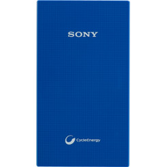 SONY CP-V5ABL 5000mAh Powerbank Blue