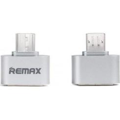 WK OTG / USB ADAPTOR RA-OTG Καλώδια-Λοιπά Αξεσουάρ Κινητής Silve