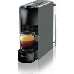 KRUPS XN110BS Essenza Mini Μηχανές Espresso Grey (Δώρο Κάψουλες αξίας 30 Ευρώ)