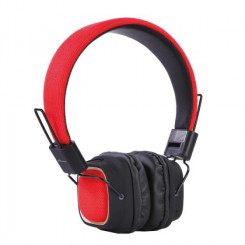ELEMENT HD-800BT-R Ακουστικά-Μικρόφωνα Red