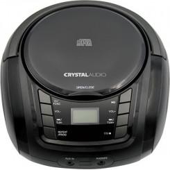 CRYSTAL AUDIO BMB1K BOOMBOX Φορητά Ράδιο-Cd Black