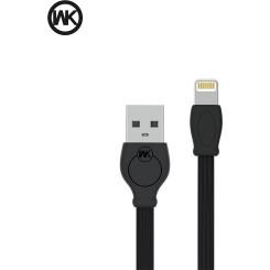 WK i6 FAST 1M (WDC-023) Καλώδια-Λοιπά Αξεσουάρ Κινητής Black