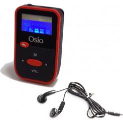 OSIO SRM-7880BG 8GB Mp3-Mp4 Players Black