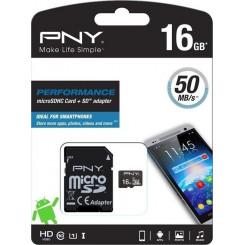 PNY SDU16GPER50-EF 16GB Κάρτες SD/MicroSD