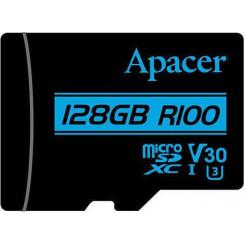 APACER V30 R100 128GB Class10 Micro SDXC UHS-I U3 Κάρτες SD/MicroSD