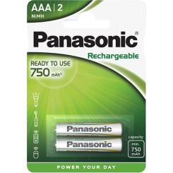 PANASONIC HHR4MVE/2BC EVOLTA-LR03 Μπαταρίες