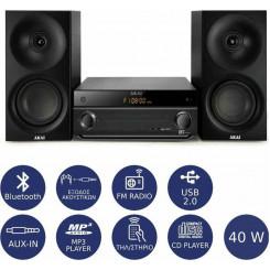 AKAI AM-301K Bluetooth Micro-Mini Hifi Black