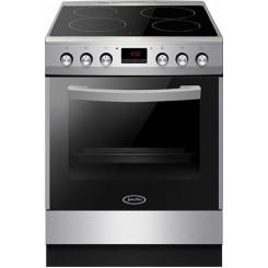 JURO PRO 7211SP INOX ΚΕΡΑΜΙΚΗ 77lt  Ηλεκτρ.κουζίνες Έως 36 δόσεις άτοκα