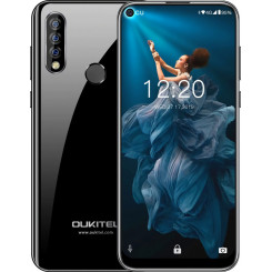 OUKITEL C17 PRO Smartphones Black