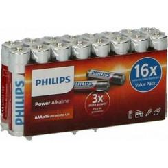 PHILIPS power 03/1.5 16pcs (LR03P16F-10) Μπαταρίες