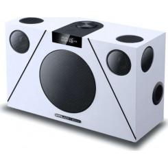 CRYSTAL AUDIO 3D-74 WHITE Bluetooth Ηχεία