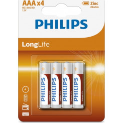 PHILIPS R03L4B-10 (4 PCS) Μπαταρίες