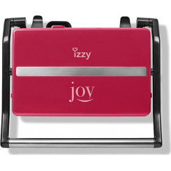 IZZY PANINI JOY RED IZ-2005 223632 Σαντουιτσιέρες/Τοστιέρες