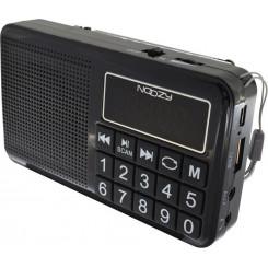 NOOZY S24 Black Φορητά Ράδιο-Cd