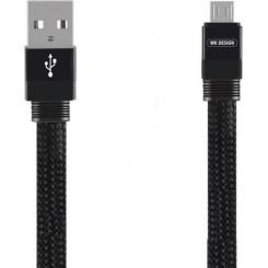 WK Charging Cable WK Micro Black 1m Mayar WDC-050 Καλώδια-Λοιπά