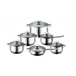ROYALTY LINE RL-1231 6τμχ Σέτ μαγειρικών σκευών