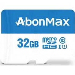 NO BRAND ABONMAX 32GB UHS-I U1 Κάρτες SD/MicroSD